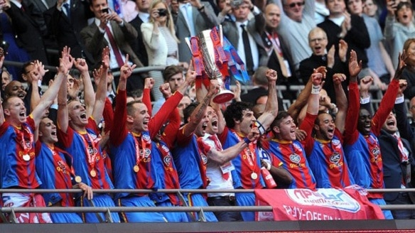 Crystal Palace are going up